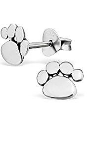Paw Earrings Sliver Earrings.jpg
