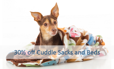 Dog Bed and Cuddle Sack Sale