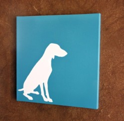 DIY Projects: Dog Shilloute
